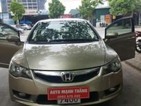 Cần bán gấp Honda Civic 1.8AT 2010 màu vàng cát