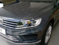 Xe nhập Đức gầm cao Volkswagen Touareg 3.6L GP đời 2016, màu xám (ghi) - Tặng 289 triệu - LH Hương 0916777090