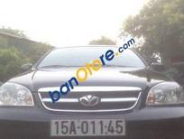 Bán xe Daewoo Lacetti MT 2009, màu đen, giá tốt