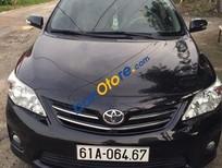 Xe Toyota Corolla altis 1.8MT đời 2012, màu đen, giá 655tr