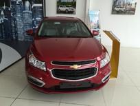 Chevrolet Cruze LT đời 2016, màu đỏ, liên hệ Ms. Uyên 0933471312 để được hỗ trợ và nhận giá ưu đãi