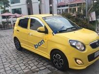 Cần bán Kia Morning AT năm 2010, màu vàng đã đi 35000 km