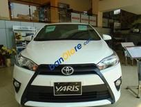 Bán ô tô Toyota Yaris E sản xuất 2015, màu trắng, 661tr