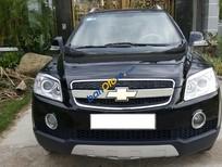 Cần bán xe cũ Chevrolet Captiva LT đời 2007, màu đen xe gia đình