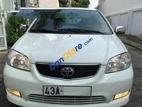 Cần bán xe Toyota Vios MT đời 2003, màu trắng