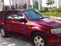Cần bán lại xe Ford Escape MT đời 2004, màu đỏ số sàn, giá tốt