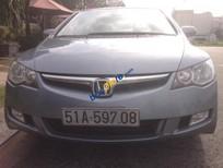 Cần bán xe cũ Honda Civic 1.8MT sản xuất 2008, màu xanh lam