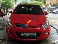 Cần bán Hyundai i20 AT năm 2011, màu đỏ số tự động