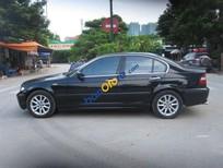 Cần bán gấp BMW 3 Series 318i đời 2005, màu đen như mới, giá 345tr