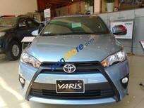 Cần bán lại xe Toyota Yaris E đời 2015, màu xanh