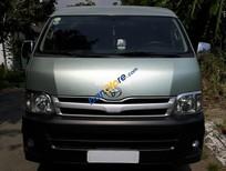 Bán xe Toyota Hiace 16 chỗ màu xanh, máy dầu đời 2010, giá 560tr TL, ai có nhu cầu liên hệ 0942892465 anh Hải