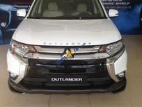 Mitsubishi Outlander 2.0 CVT, màu trắng, xe nhập nhật, giá ưu đãi