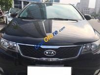 Cần bán gấp Kia Cerato AT đời 2011, màu đen số tự động