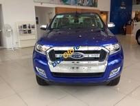 Bán ô tô Ford Ranger XLT 4x4 MT đời 2016, màu xanh, giá cực rẻ, tặng thêm phụ kiện, call: 0942552831