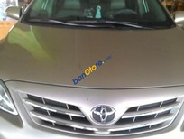 Cần bán Toyota Corolla altis 1.8G 2013, màu bạc