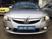 Cần bán xe Honda Civic 1.8AT đời 2010, màu bạc