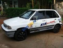 Bán ô tô Kia Pride CD5 2001, màu trắng ít sử dụng
