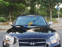 Cần bán gấp Hyundai Santa Fe MLX sản xuất 2008, màu đen xe gia đình, giá chỉ 675 triệu