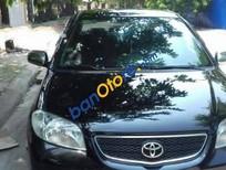 Cần bán Toyota Vios MT đời 2005, màu đen