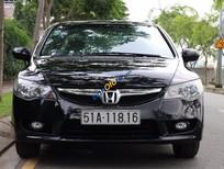 Bán xe Honda Civic 1.8AT đời 2011, màu đen còn mới, giá 560tr