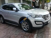 Bán Hyundai Santa Fe 2013 màu bạc nhập khẩu