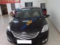 Cần bán xe Toyota Vios E 2012, màu đen