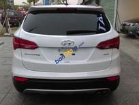 Cần bán lại xe Hyundai Santa Fe sản xuất 2014, màu trắng nhập khẩu nguyên chiếc