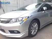 Cần bán gấp Honda Civic 2.0AT đời 2012, màu bạc