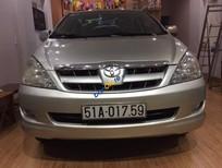 Bán xe cũ Toyota Innova 2.0 G đời 2006, màu bạc số sàn