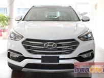 Bán ô tô Hyundai Santa Fe 2.4AT 2WD đời 2016, màu trắng