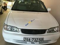 Cần bán lại xe cũ Toyota Corolla 1.3 đời 2001, màu trắng, 168 triệu