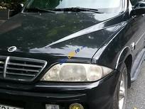Bán xe cũ Ssangyong Musso Libero AT 2005, màu đen số tự động