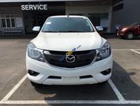 Cần bán Mazda BT 50 MT đời 2016, màu trắng