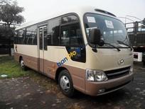 Bán xe 29 chỗ Hyundai County Đồng Vàng, xe thân dài 2016 ưu đãi lớn
