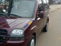 Bán xe cũ Fiat Doblo đời 2003, màu đỏ xe gia đình