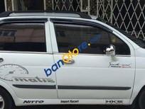 Bán xe Daewoo Matiz MT đời 2003, màu trắng, giá 158tr