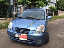 Cần bán xe Kia Morning AT đời 2007, màu xanh lam số tự động