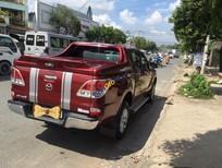 Bán xe cũ Mazda BT 50 2.2AT năm 2015, màu đỏ chính chủ, giá 580tr