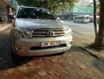 Bán Toyota Fortuner G đời 2011, màu bạc