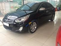 Bán Hyundai Accent 1.4 AT năm 2012, màu đen, xe nhập, biển Hà Nội