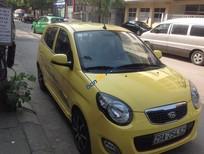 Cần bán Kia Morning MT đời 2011, màu vàng xe gia đình, giá chỉ 270 triệu