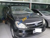 Cần bán Toyota Innova MT đời 2008, màu đen số sàn, giá tốt