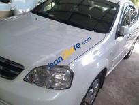 Cần bán gấp Daewoo Lacetti MT đời 2011, màu trắng số sàn