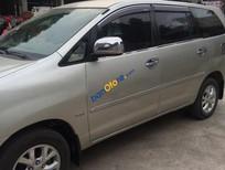 Cần bán xe cũ Toyota Innova 2.0G sản xuất 2006, màu bạc chính chủ