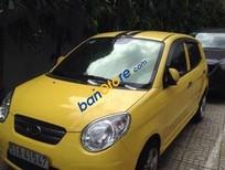 Cần bán xe cũ Kia Morning MT đời 2009, màu vàng số sàn