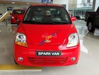 Bán xe Chevrolet Spark Van đời 2015, đủ màu, giá rẻ cạnh tranh