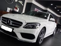 Bán xe Mercedes C300 2016, màu trắng giá cực ưu đãi, giao xe ngay