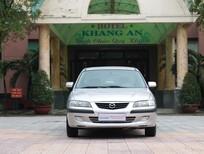 Cần bán Mazda 626 2002, màu bạc, giá 255tr