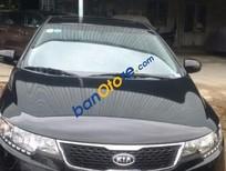 Cần bán Kia Forte SX 1.6 MT đời 2012, màu đen số sàn, giá 452tr