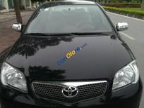 Bán ô tô Toyota Vios G sản xuất 2006, màu đen, giá tốt